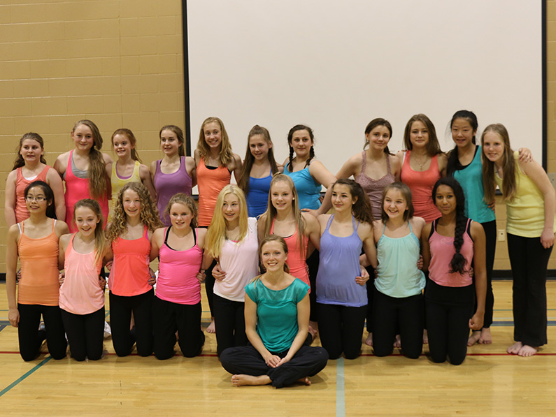 Students from the Jack McKenzie Elementary School, Regina SK