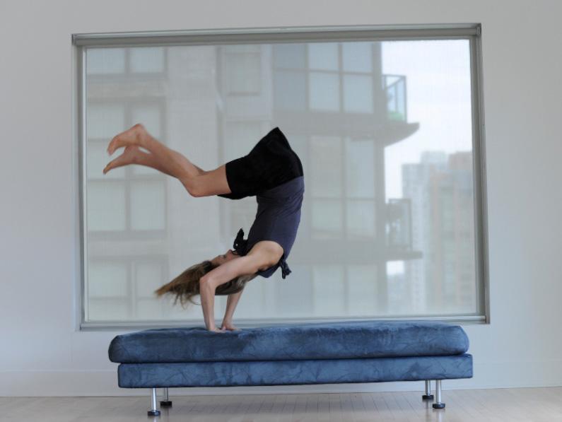 """""""Compartment 114"""" Kinesis Dance Somatheatro - Paras Terezakis. Photo: Chris Randle"""